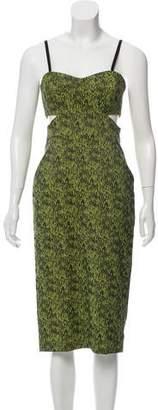 Jonathan Simkhai Cutout Sleeveless Dress