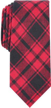 Bar III Men's Seabury Skinny Plaid Tie