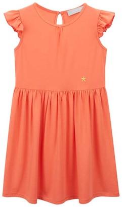 Mint Velvet Coral Jersey T-Shirt Dress