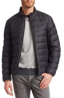 Loro Piana Wool Puffer Coat