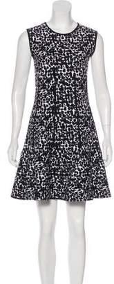 Antonio Berardi Printed Mini Dress
