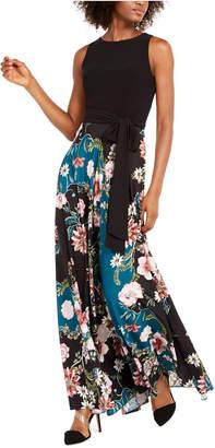 INC International Concepts Inc Petite 2 In 1 Keyhole-Back Maxi Dress