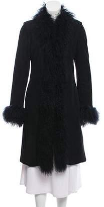 Joseph Shearling Knee-Length Coat