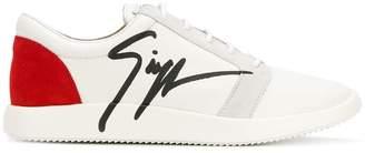 Giuseppe Zanotti Design logo sneakers