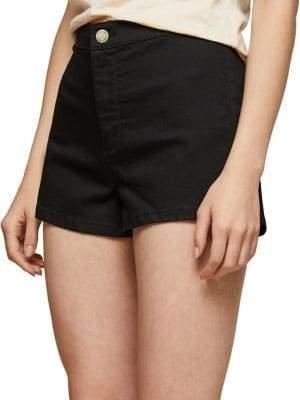 Miss Selfridge High Rise Denim Shorts