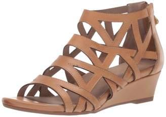 Bettye Muller Concept Women's Sashi Wedge Sandal Nocciola 7.5 Medium US