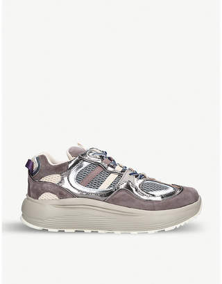 Eytys Jet Turbo leather and mesh trainers