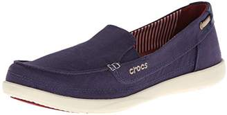 crocs Women's Walu Canvas Loafer $21.44 thestylecure.com