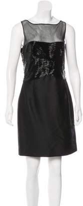 Valentino Embellished Silk Dress