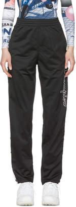 Champion Reverse Weave Black Button Stripe Lounge Pants