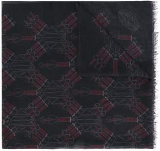 Valentino Love Blade scarf