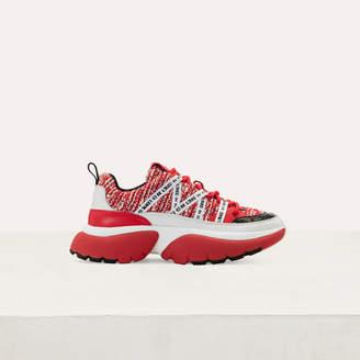 Maje W20 Urban Tweed Sneakers