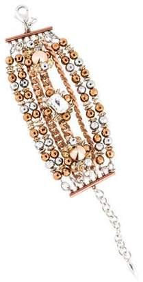 Assad Mounser Crystal Multistrand Bracelet