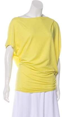 Robert Rodriguez Asymmetrical Bow-Accented Top