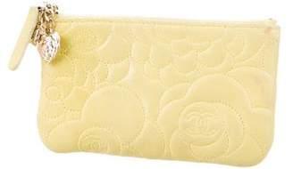 Chanel Camellia Key Pouch