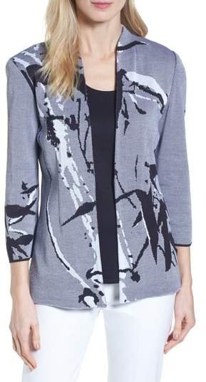Abstract Jacquard Jacket