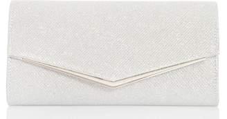 Next Womens Quiz Textured Satin Shimmer Plated Bag