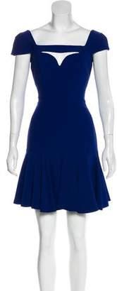 Alexander McQueen Cutout Flared Dress