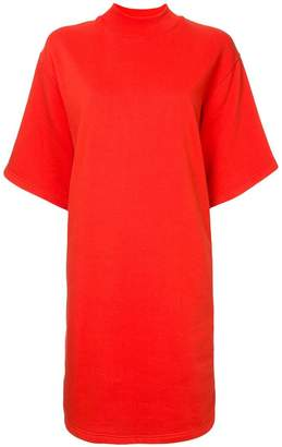 MSGM side zipped dress