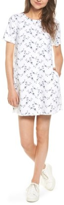 Women's Current/elliott The Fray Edge Shift Dress $228 thestylecure.com