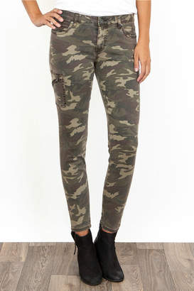Kut Donna Camo Side Pocket Ankle Pant