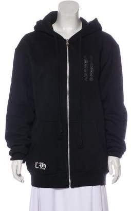 Chrome Hearts Hooded Logo Jacket