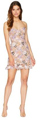 For Love & Lemons Posy Embroidery Mini Dress Women's Dress