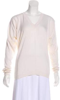 The Row Cashmere Knit Sweatshirt