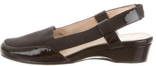 Taryn Rose Patent Leather Slingback Pumps $75 thestylecure.com