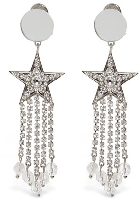 Miu Crystal Star Drop Earrings