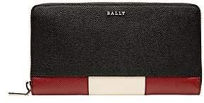 Bally Men's Talen Pebbled Leather Continental Wallet