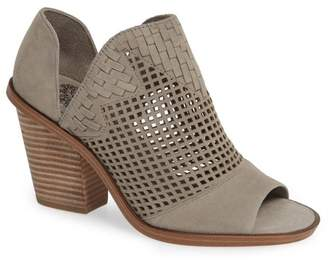 Vince Camuto Fritzey Perforated Peep Toe Bootie (Women)