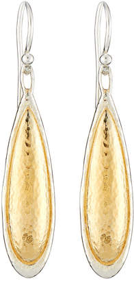 Gurhan Amulet Elongated Teardrop Earrings