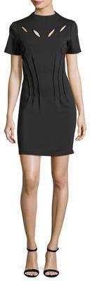Catherine Malandrino High-Neck Cutout Dress