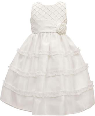 Jayne Copeland Pintuck Bodice Dress, Little Girls