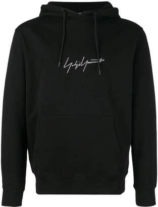 Yohji Yamamoto signature hooded pullover