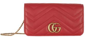 Gucci Mini Marmont Matelasse Cross Body Bag