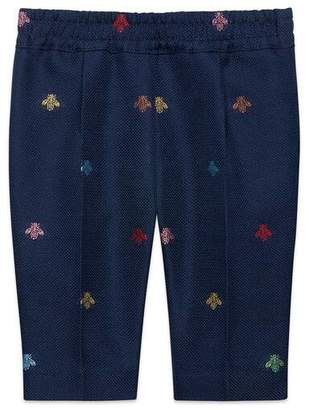 Gucci Baby bees cotton natte jogging pant