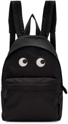 Anya Hindmarch Black Eyes Backpack