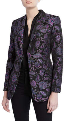 Elie Tahari Madison Floral Embroidered Jacket