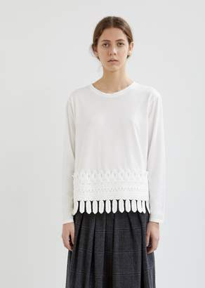 Zucca Lily Jersey Fringe Tee