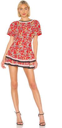 Alice + Olivia Palmira Ruffle Dress