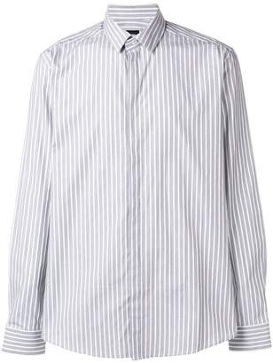 Les Hommes classic striped shirt