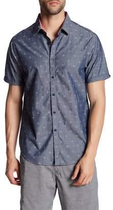 Howe Dark Seas Regular Fit Short Sleeve Anchor Shirt