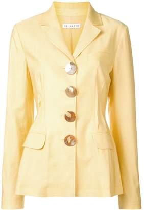 REJINA PYO shell button blazer