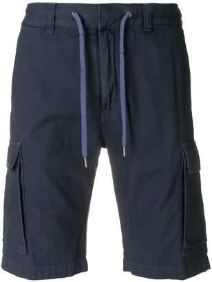 Canali elasticated drawstring shorts