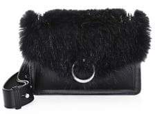 Rebecca Minkoff Jean Faux Fur& Leather Crossbody