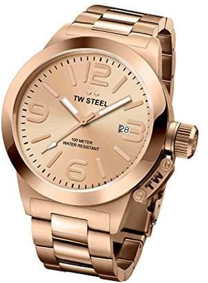 TW Steel 'Canteen' Quartz Gold Watch(Model: CB402)