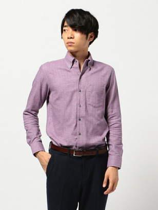 Men's Bigi (メンズ ビギ) - CROWDED CLOSET ソフト起毛シャツ/コットンヘリンボーン メンズ ビギ シャツ/ブラウス