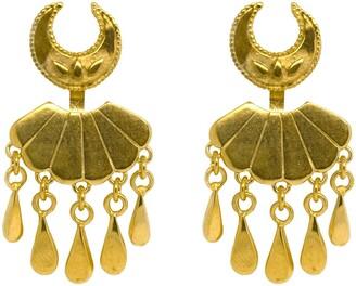 Annabelle Lucilla Jewellery Moon & Sea Shell Water Droplet Ear Jackets
